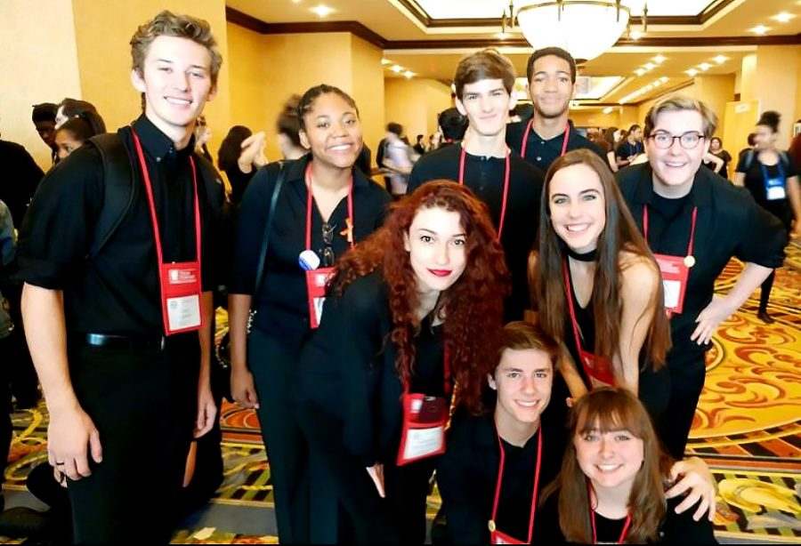 Theater comes home successful from the Texas Thespian State Convention