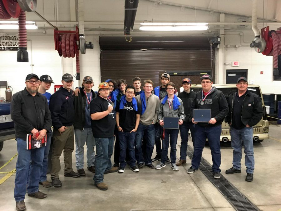 15th Annual Automotive Competition Results