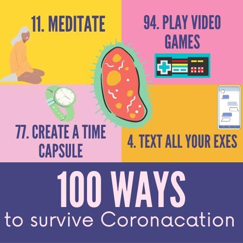 100 Ways to survive coronacation
